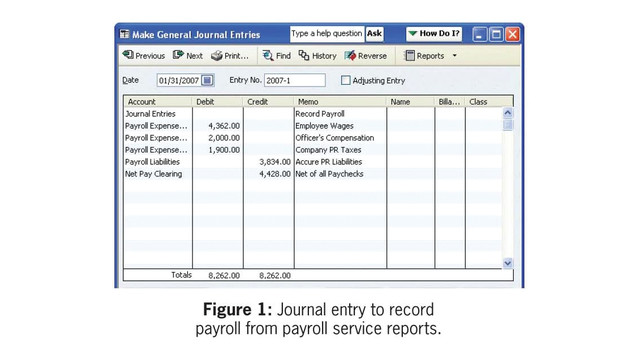 quickbooks job costing when using a payroll service