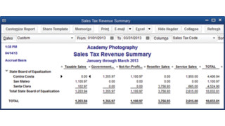 How to Manage Sales Tax in QuickBooks 2013