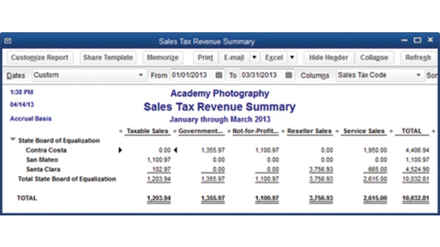 how to manage sales tax in quickbooks 2013 cpa practice advisor