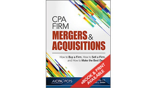 Book Offers Advice on When to Buy, Sell or Merge an Accounting Practice