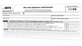 IRS Approves E-Signatures on Form 8879