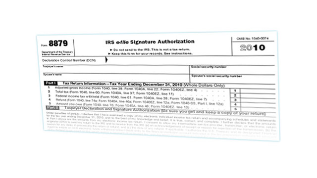 Irs Approves E Signatures On Form 8879 Cpa Practice Advisor
