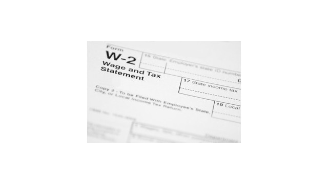 Printable Irs Form W-2 For 2015 (Taxes To Be Filed In 2016)