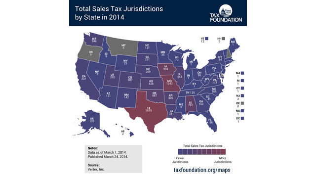 State & Local Tax Highlights from Around the Country - Feb. 2015
