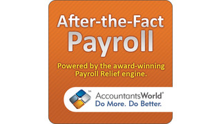 AccountantsWorld — After-the-Fact Payroll