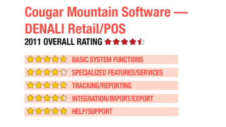 2011 Review of Cougar Mountain Software — DENALI Retail/POS