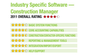 Industry Specific Software – Construction Manager