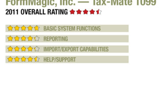 2011 Review of FormMagic, Inc. — Tax-Mate 1099