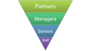 The Inverted Pyramid - A Challenge for Accounting Firms