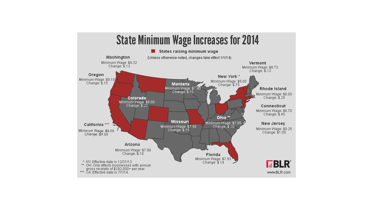 Minimum Wage Changes in 2018: State by State Guide