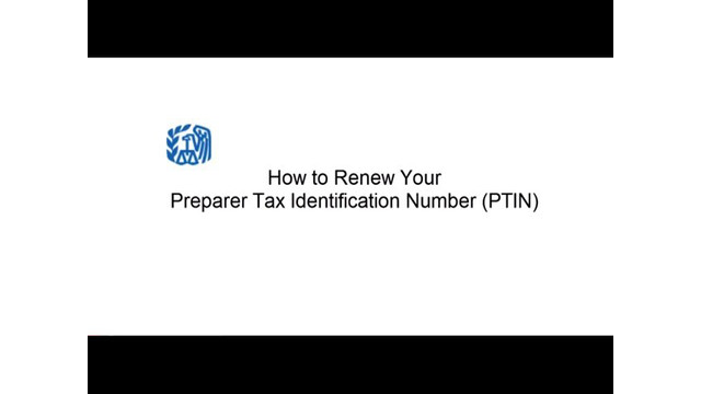 How to Renew Your IRS PTIN