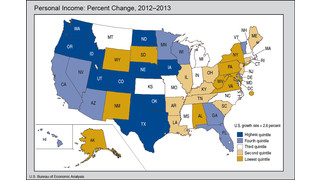 Which States Have the Highest Personal Income Growth?